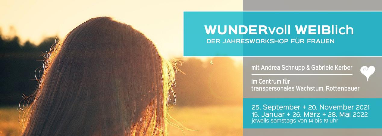 Wunderbar Weiblich Andrea Schnupp Jahresworkshop